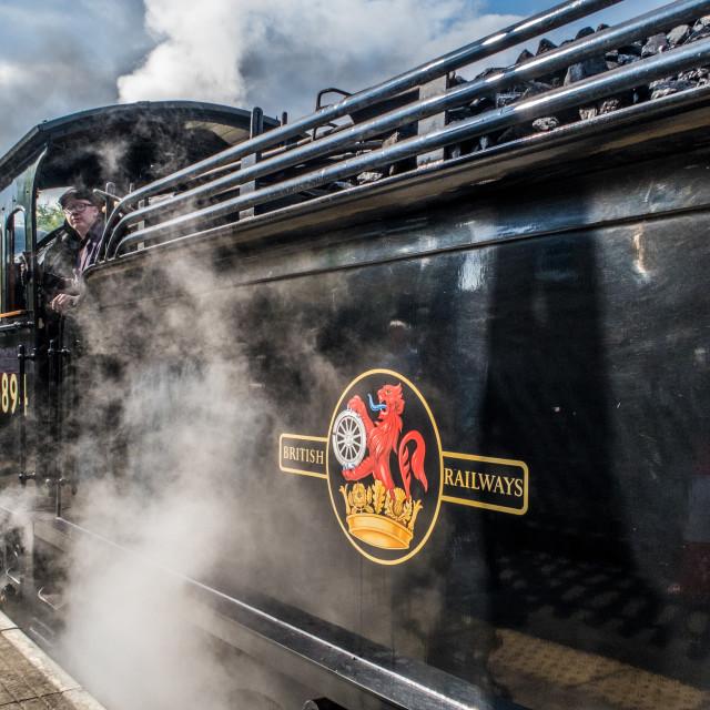"""""""Wensleydale Railway"""" stock image"""