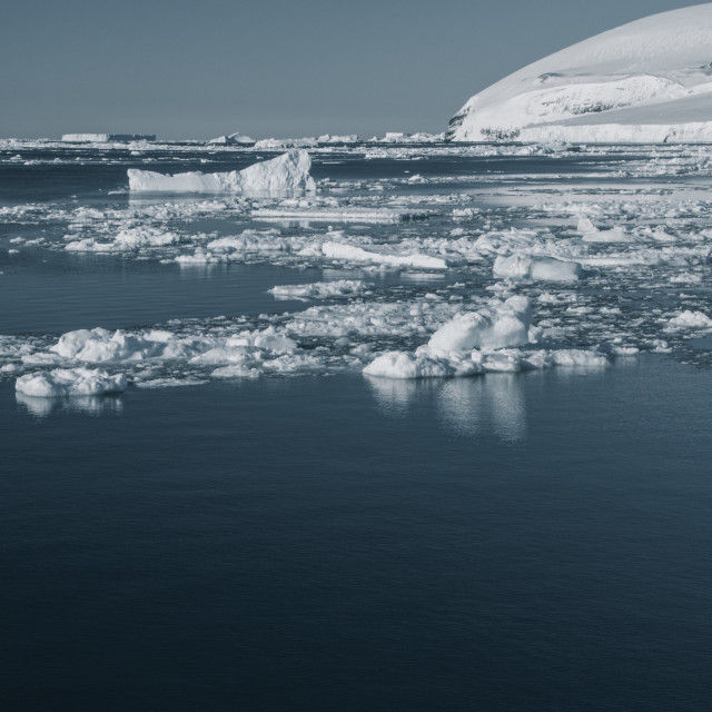 """Antarctic Sound"" stock image"