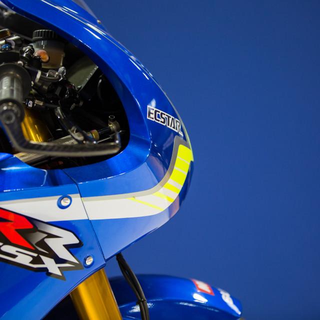"""Suzuki MotoGP"" stock image"