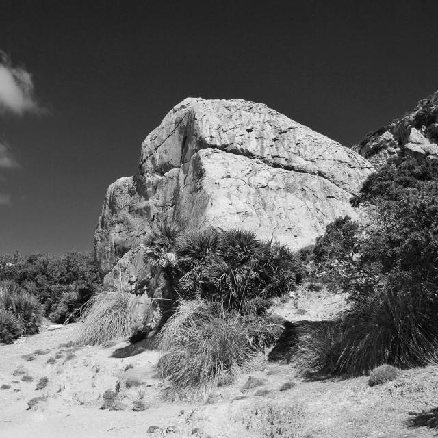 """Serra de Tramuntana mountains, Mallorca"" stock image"
