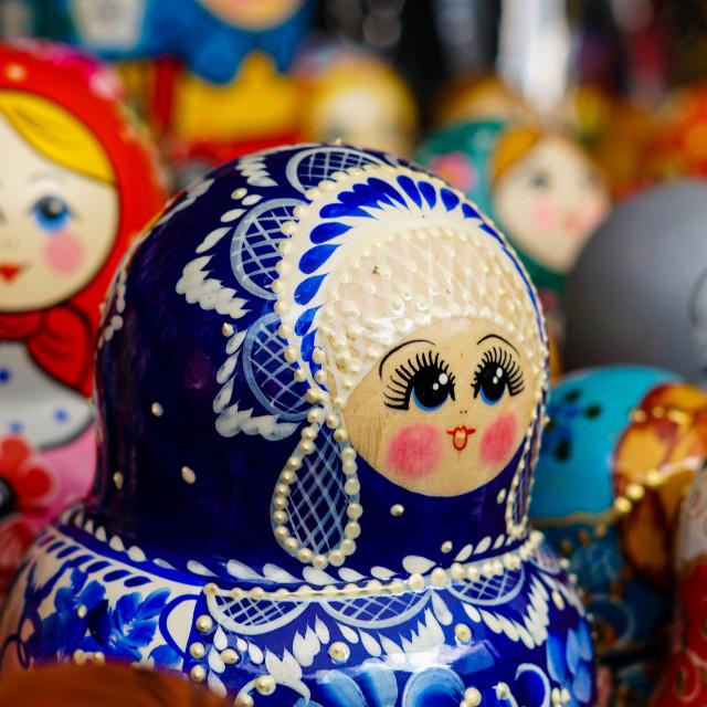 """""""Matryoshka Dolls 1"""" stock image"""