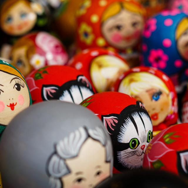 """""""Matryoshka Dolls 2"""" stock image"""