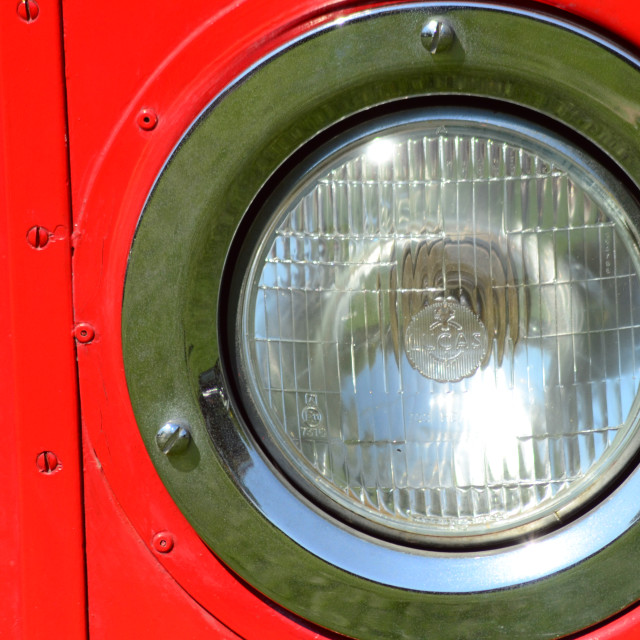 """Bus Headlight"" stock image"
