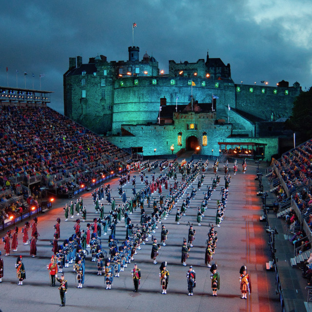 """Royal Edinburgh Military Tattoo"" stock image"