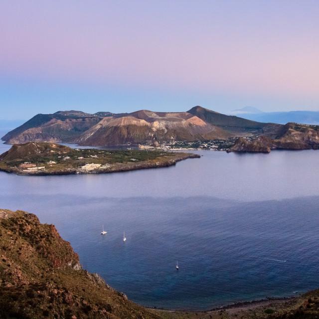 """""""Vulcano Island"""" stock image"""