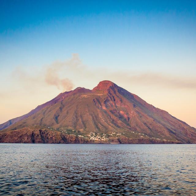 """""""Stromboli Island"""" stock image"""