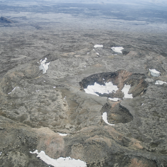 """""""Craters"""" stock image"""