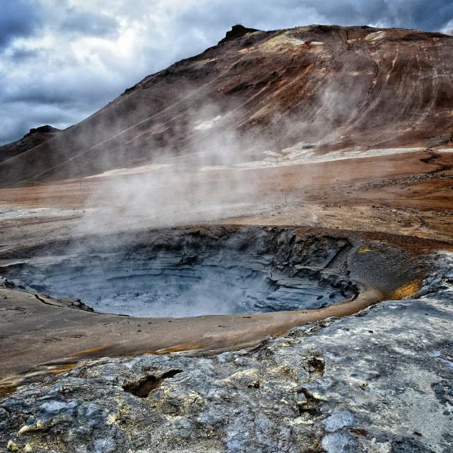 """""""HVERIR, Iceland"""" stock image"""