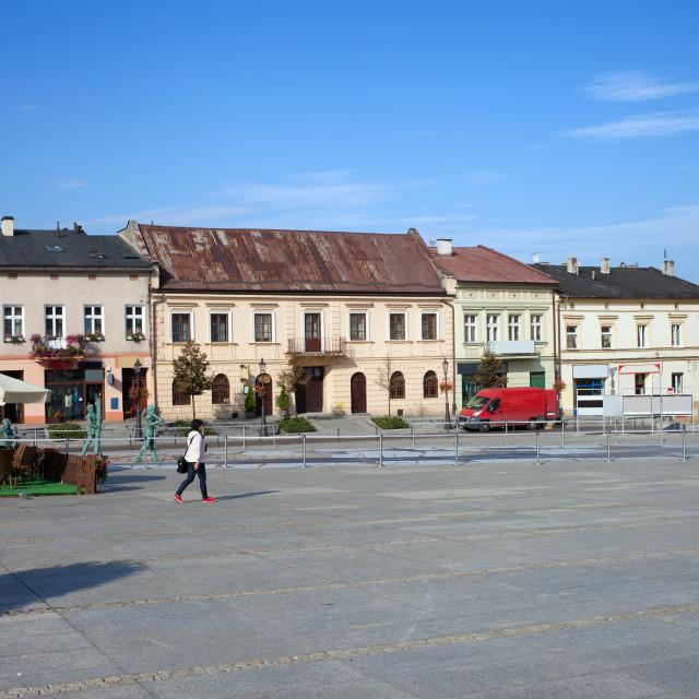 """Wieliczka Town in Poland"" stock image"