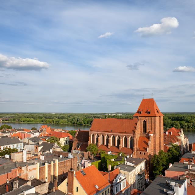 """City of Torun in Poland"" stock image"