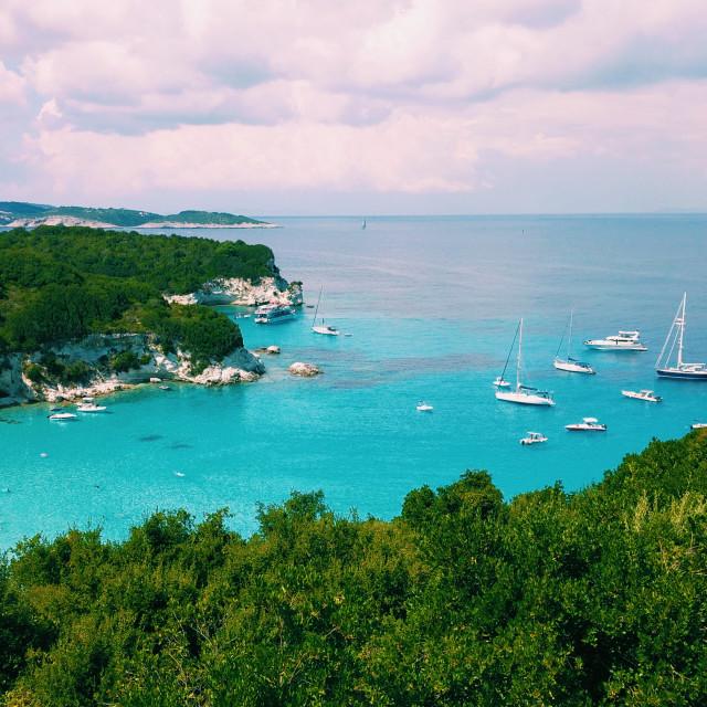 """Voutoumi Beach, Antipaxos Island, Greece."" stock image"