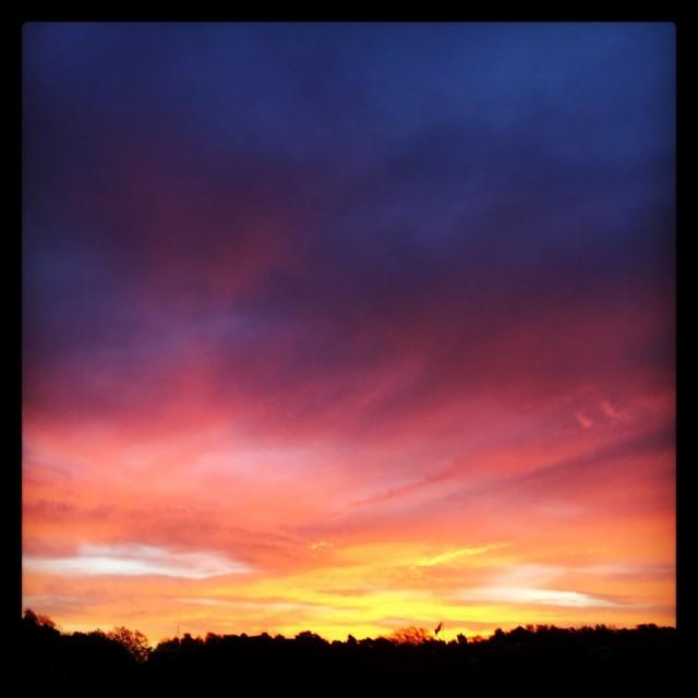 """Southwold sunset"" stock image"