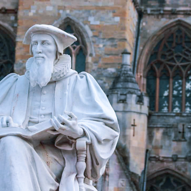 """Richard Hooker, 1554 – 1600, Writer and theologian"" stock image"