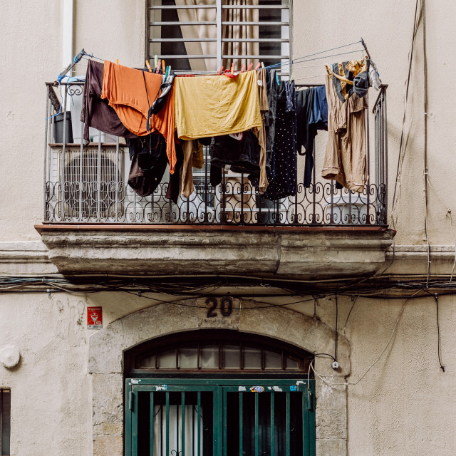 """Laundry Day"" stock image"