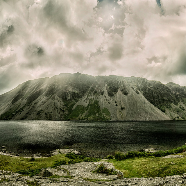 """illgill Head and Wast Water,Wasdale"" stock image"