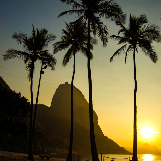 """Rio de Janeiro Sunrise"" stock image"