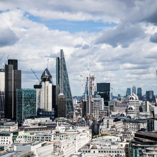 """London Skyline"" stock image"