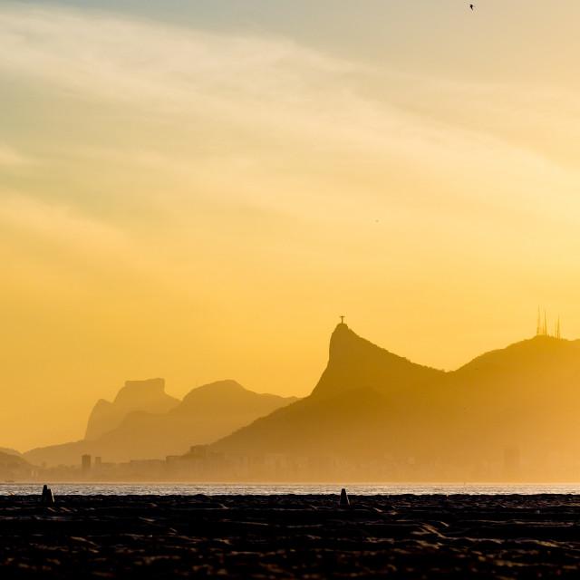 """Rio de Janeiro beach afternoon"" stock image"