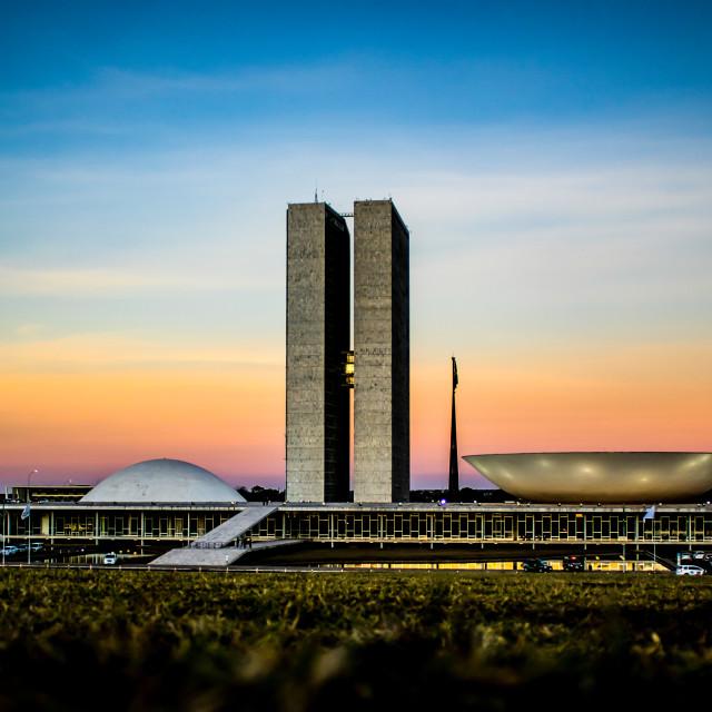 """National Congress of Brazil"" stock image"