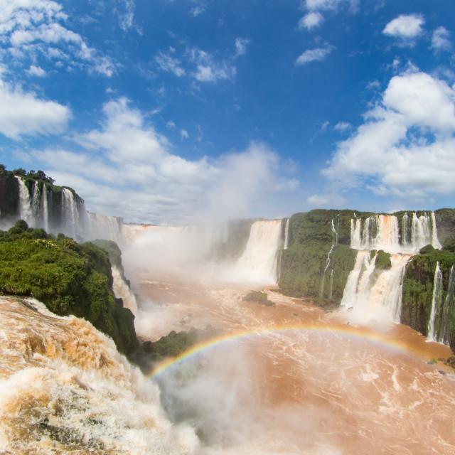 """""""Iguazu Falls"""" stock image"""