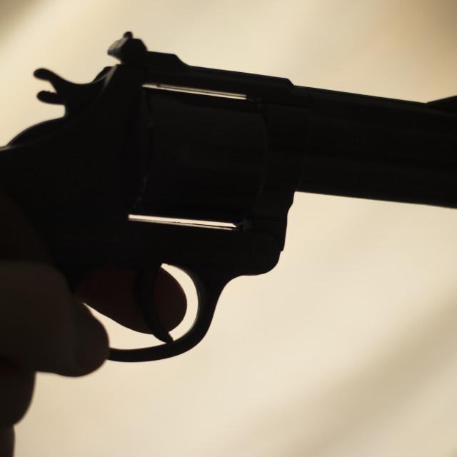 """Pistol automatic handgun"" stock image"