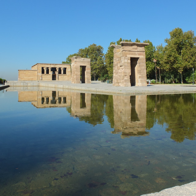 """Temple Debod"" stock image"