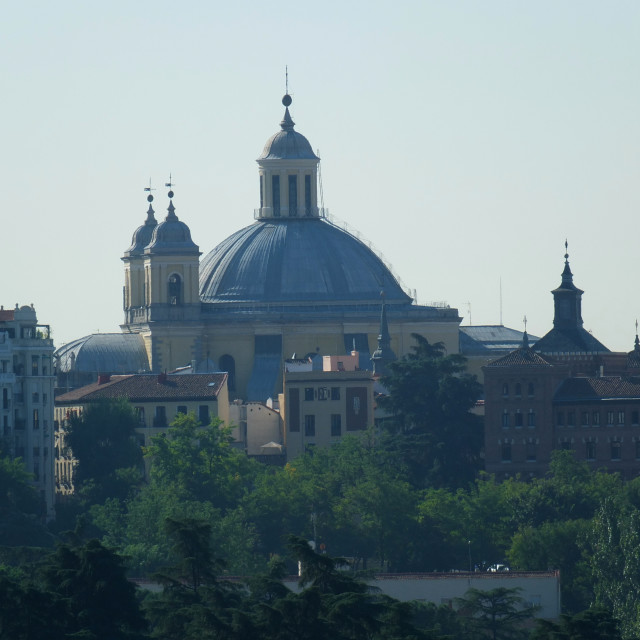"""The Domes of Madrid"" stock image"