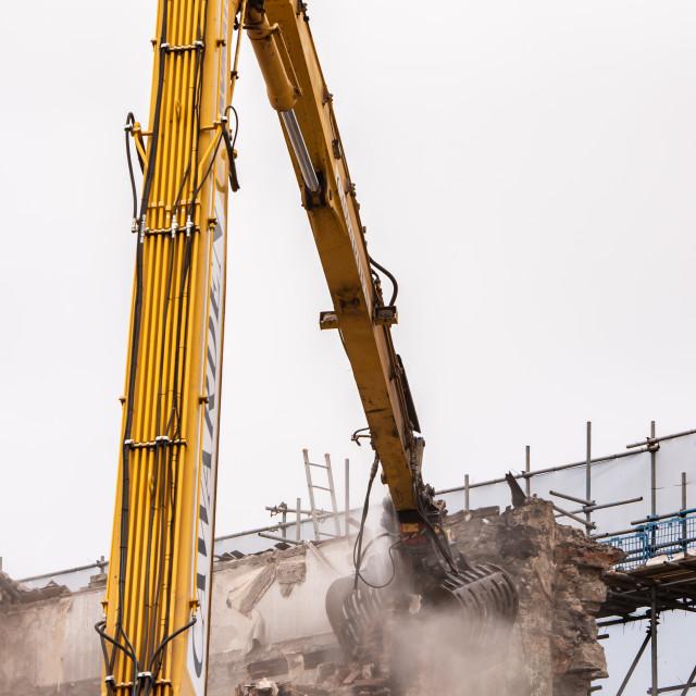 """Demolition"" stock image"