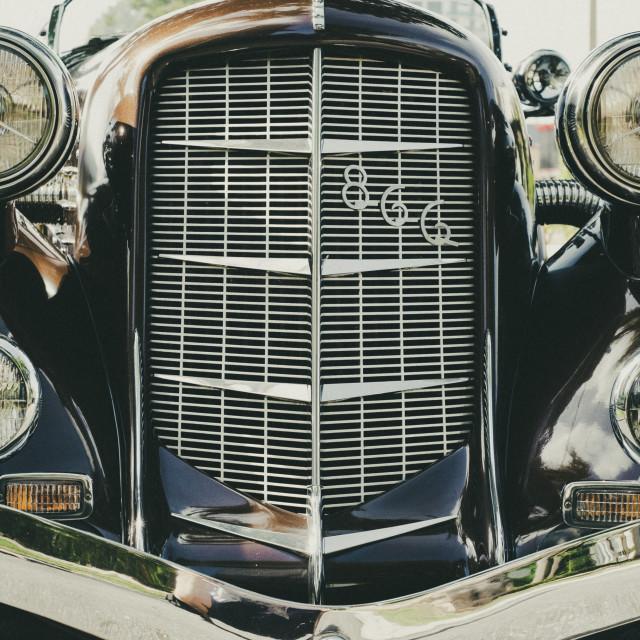 """Classic American car"" stock image"