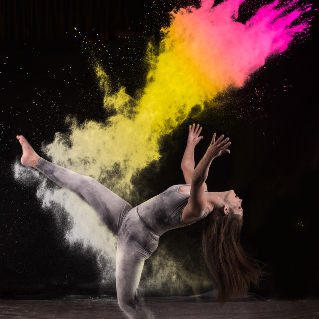 """Dance explosion"" stock image"