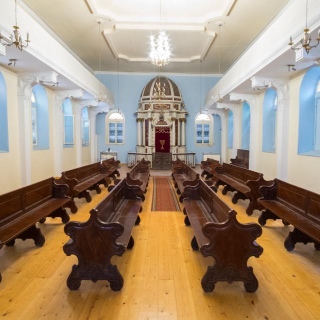 """Corfu Synagogue"" stock image"