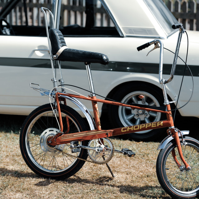"""Raleigh Chopper"" stock image"