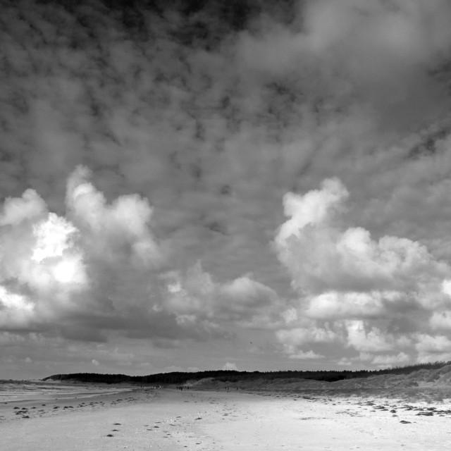 """""""Newborough Beach"""" stock image"""