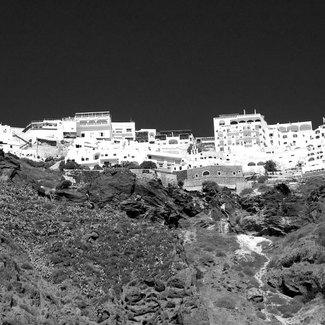 """Oia on the Greek island of Santorini"" stock image"