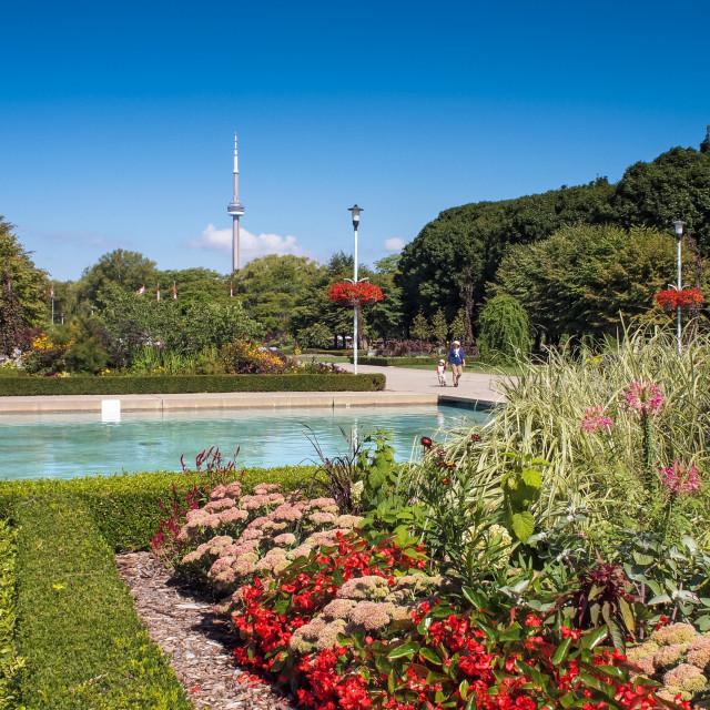 """Toronto Island Park - Toronto, Canada"" stock image"