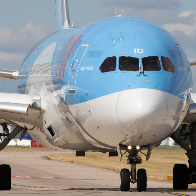 """4B9A5556 787-8 G-TUIJ 180804 EGCC"" stock image"
