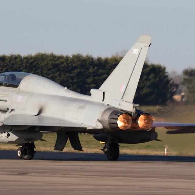 """""""4B9A5015 Typhoon ZK380 380 180207 EGXC"""" stock image"""