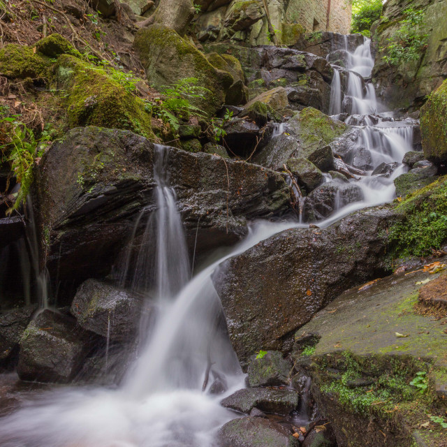 """""""Lumsdale Falls"""" stock image"""