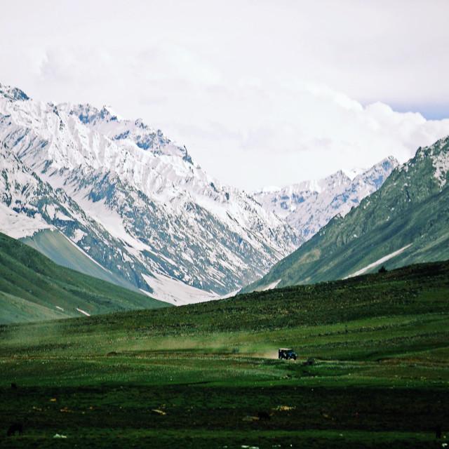 """pakistan highway"" stock image"