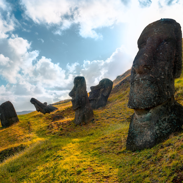 """Easter Island"" stock image"