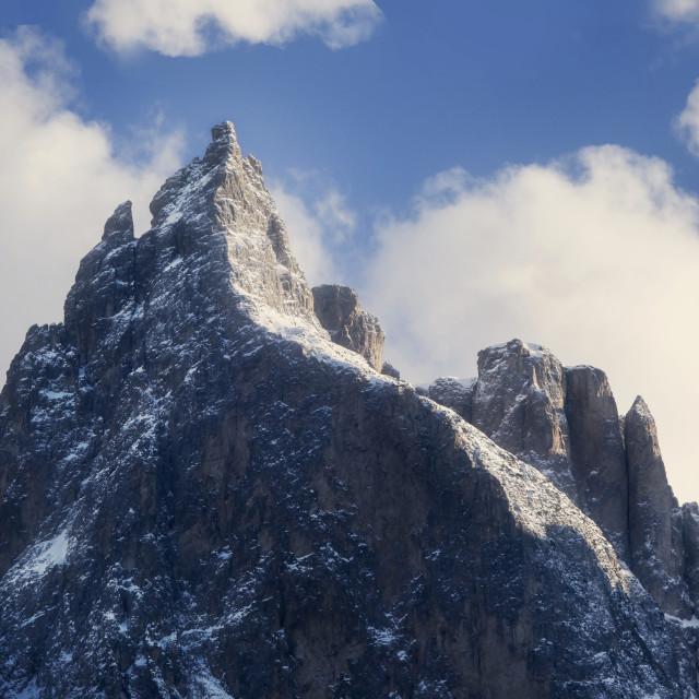 """Mountain Peak"" stock image"