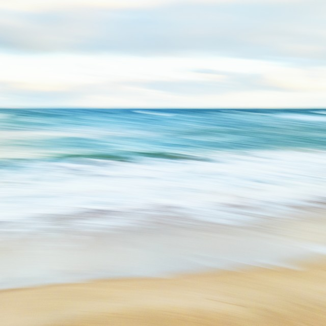 """""""Beach Abstract"""" stock image"""