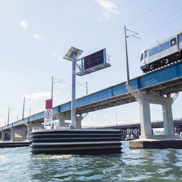 """""""Freo Bridge..."""" stock image"""