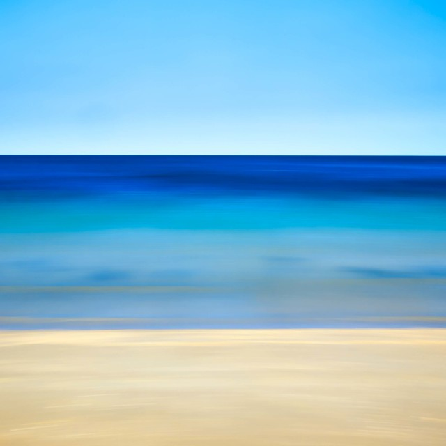 """Beach Life Abstract"" stock image"