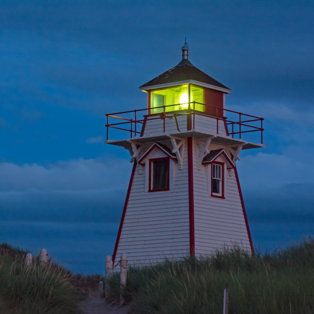 """""""Covehead Blue Hour"""" stock image"""