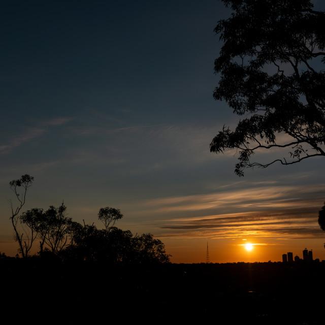 """""""Sunrise...Sunset"""" stock image"""