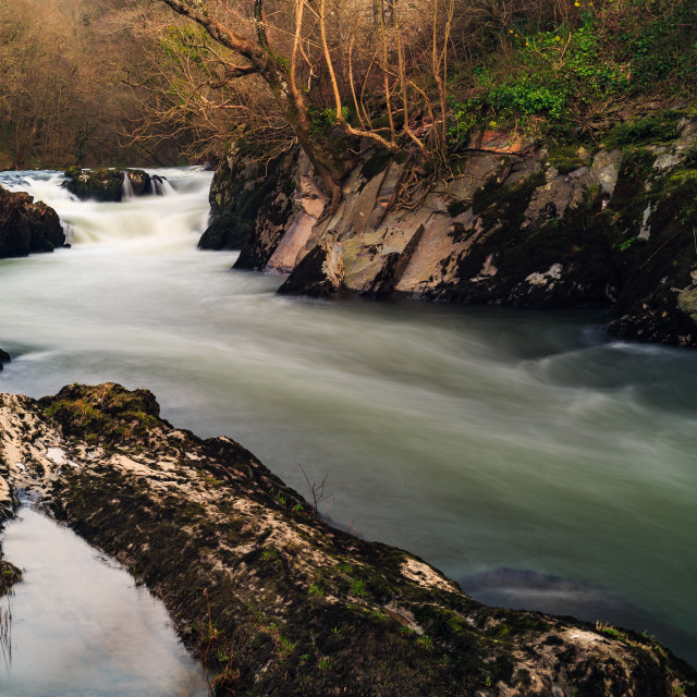 """The Flowing River"" stock image"