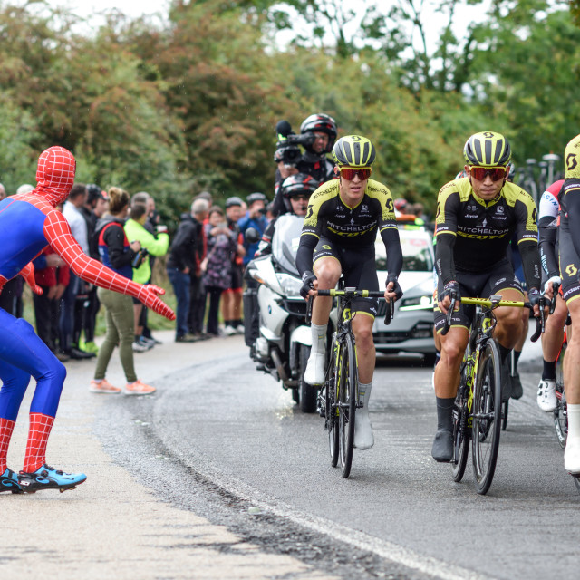 """Tour of Britain 2018."" stock image"