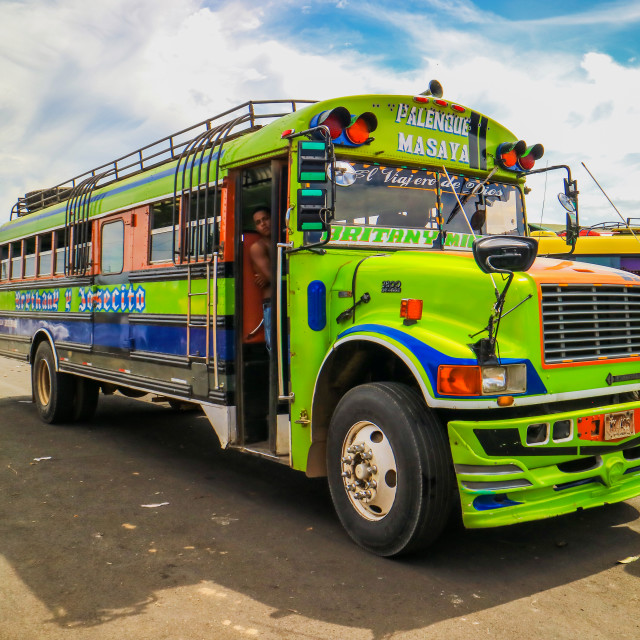 """Public transportation in Nicaragua"" stock image"