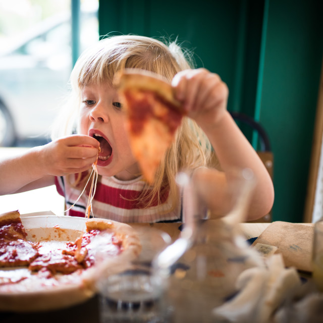 """""""Pizza time!"""" stock image"""